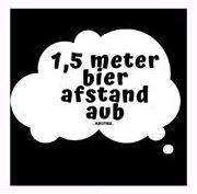 1.5 meter bier afstand